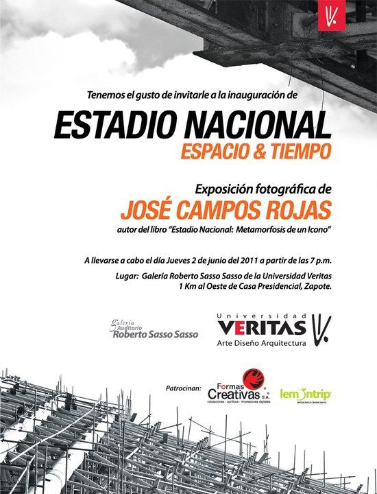 Exposición Estadio Nacional: Espacio y Tiempo