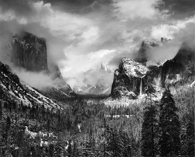 clearing-winter-storm-yosemite-valley-ansel-adams-1942