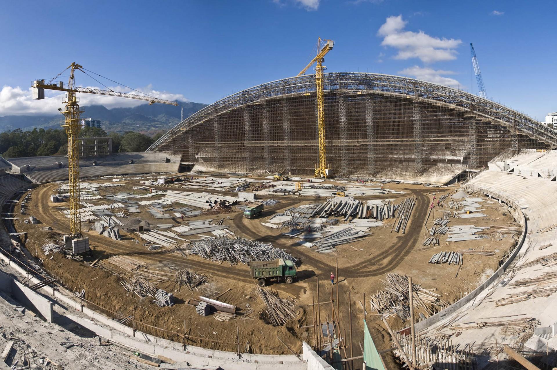 Estadio Nacional: Construcción en 23 pasos
